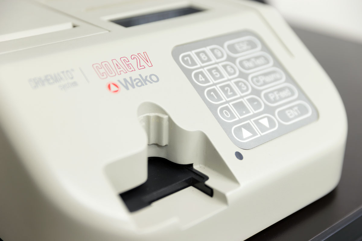 動物専用血液凝固分析装置
